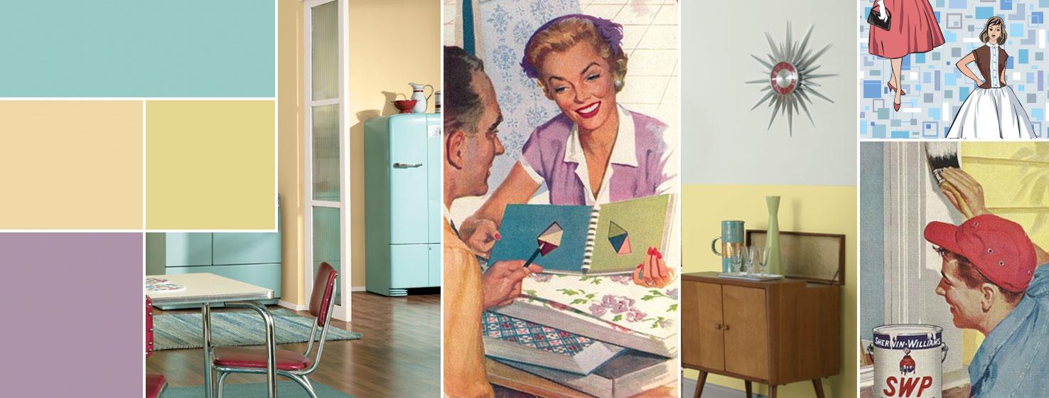 Color Through The Decades 1950s Sherwin Williams