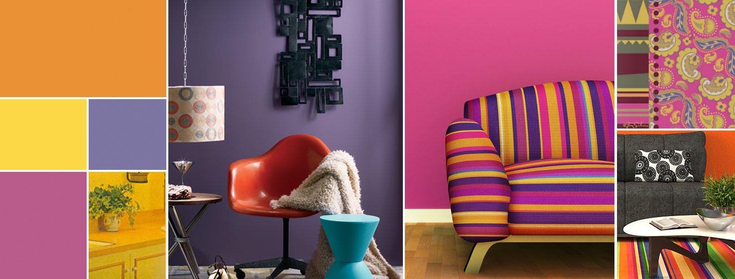 Color Through The Decades 1960s Sherwin Williams