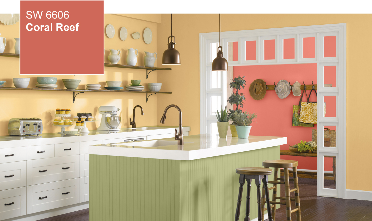 2015 Color Of The Year  Coral Reef (SW 6606) by Sherwin Williams