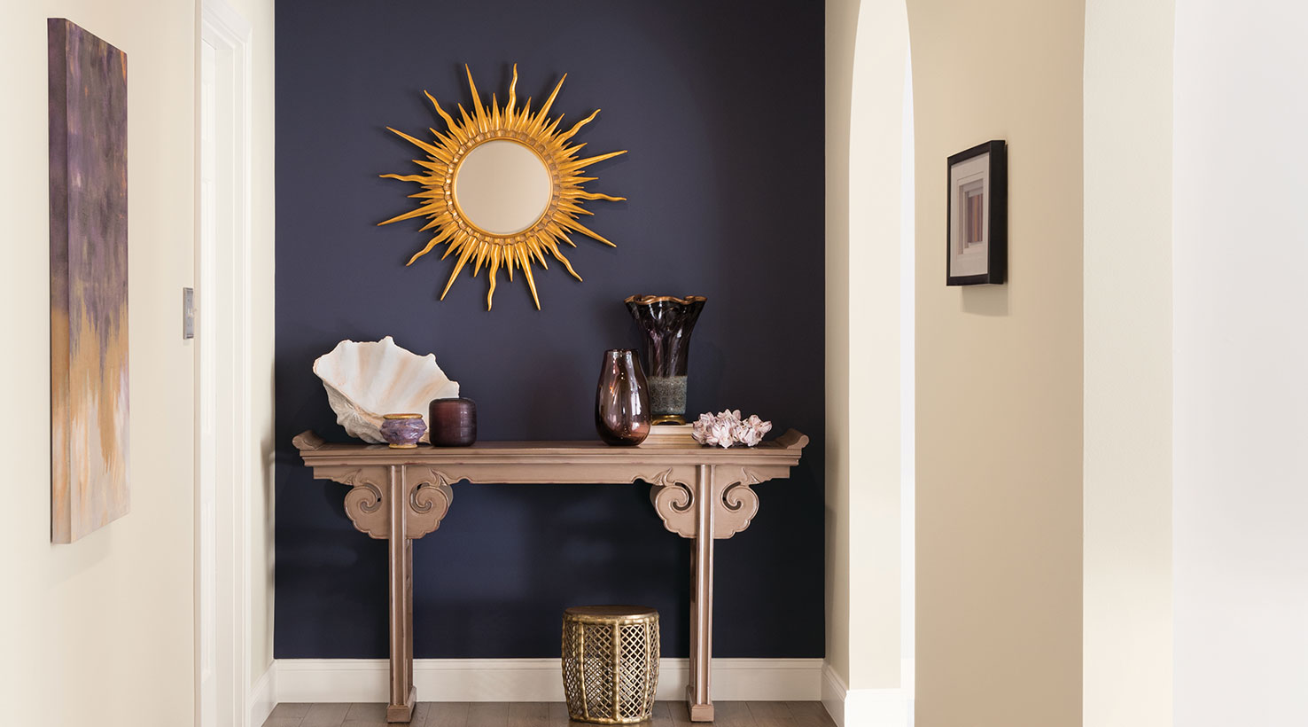 Purple Foyer Paint : Entryway paint color ideas inspiration gallery sherwin