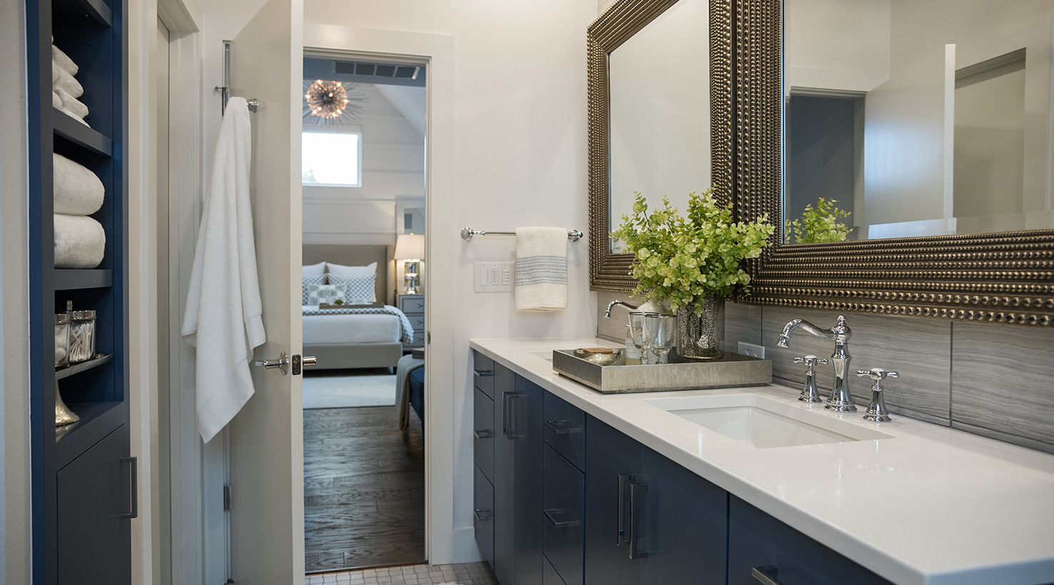 The hgtv smart home 2015 sponsored by sherwin williams for Hgtv spa bathroom ideas