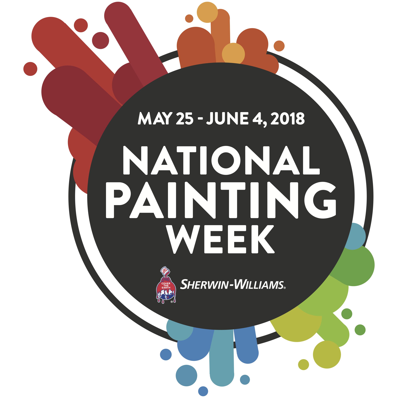 national painting week 2017 sherwin williams