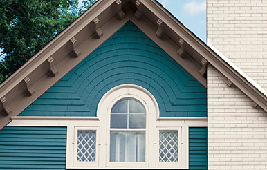 accents - Exterior House Colors Blue