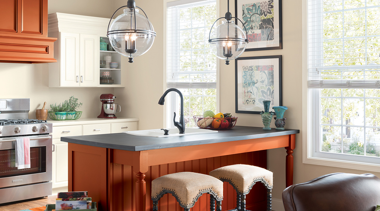 kitchen paint color ideas inspiration gallery sherwin williams rh sherwin williams com