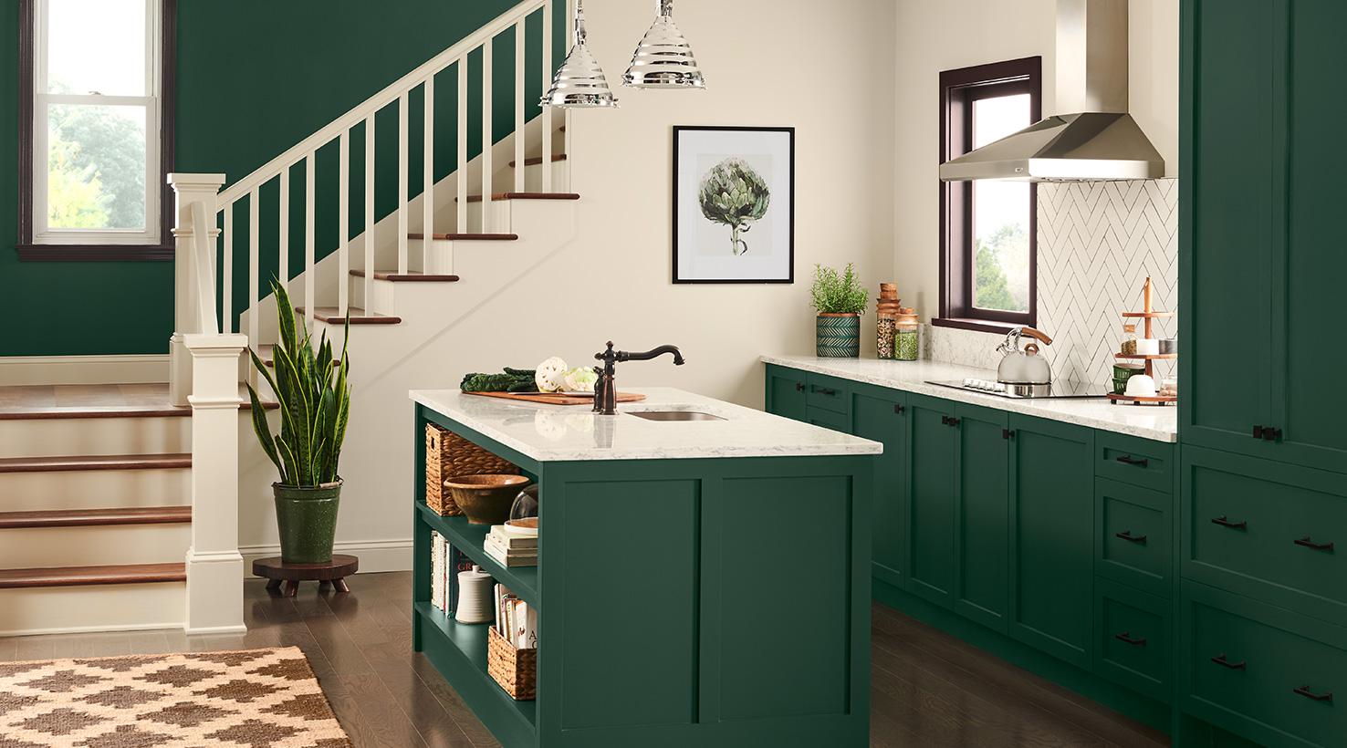 southwest color schemes kitchens