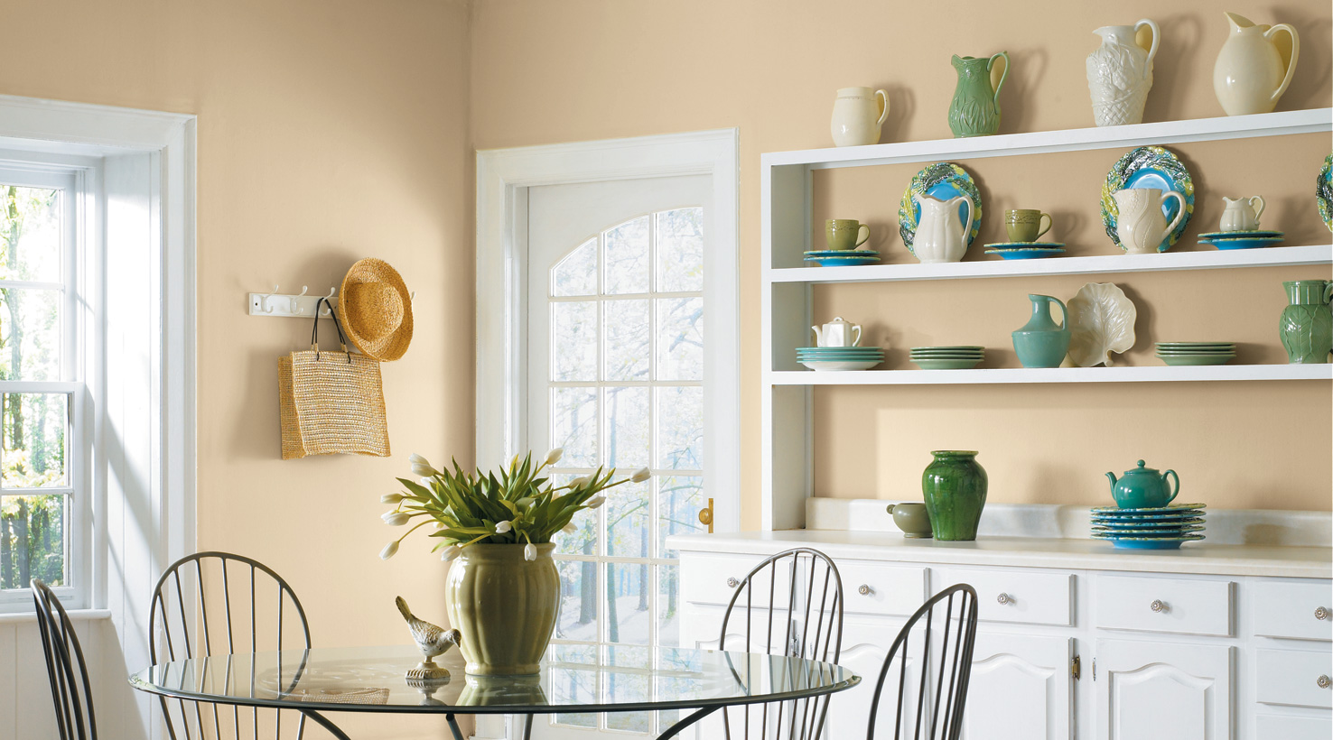 dining room yellows - Dining Room Paint Colors
