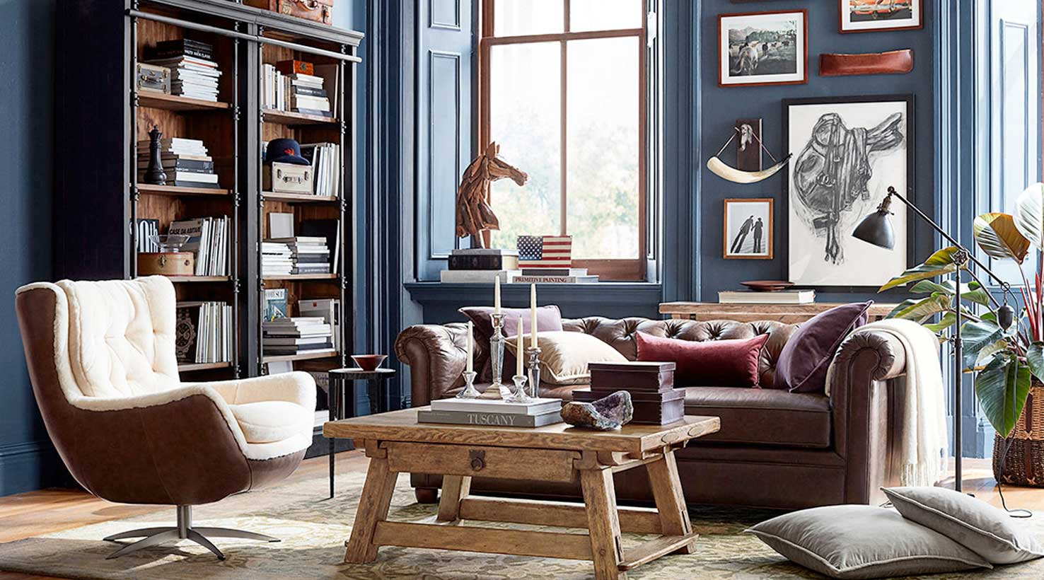 living room blues - Paint Colors For Living Room