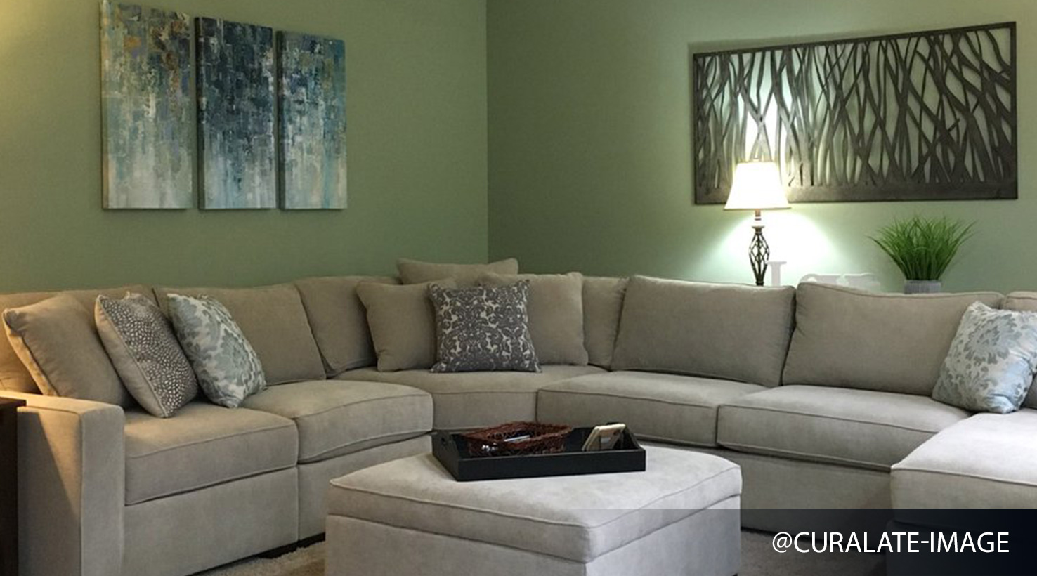 Merveilleux ... Living Room   Greens ...