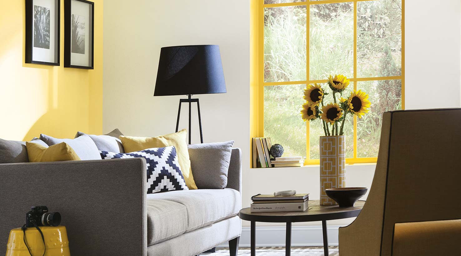 Living room paint color ideas inspiration gallery for Living room yellow color