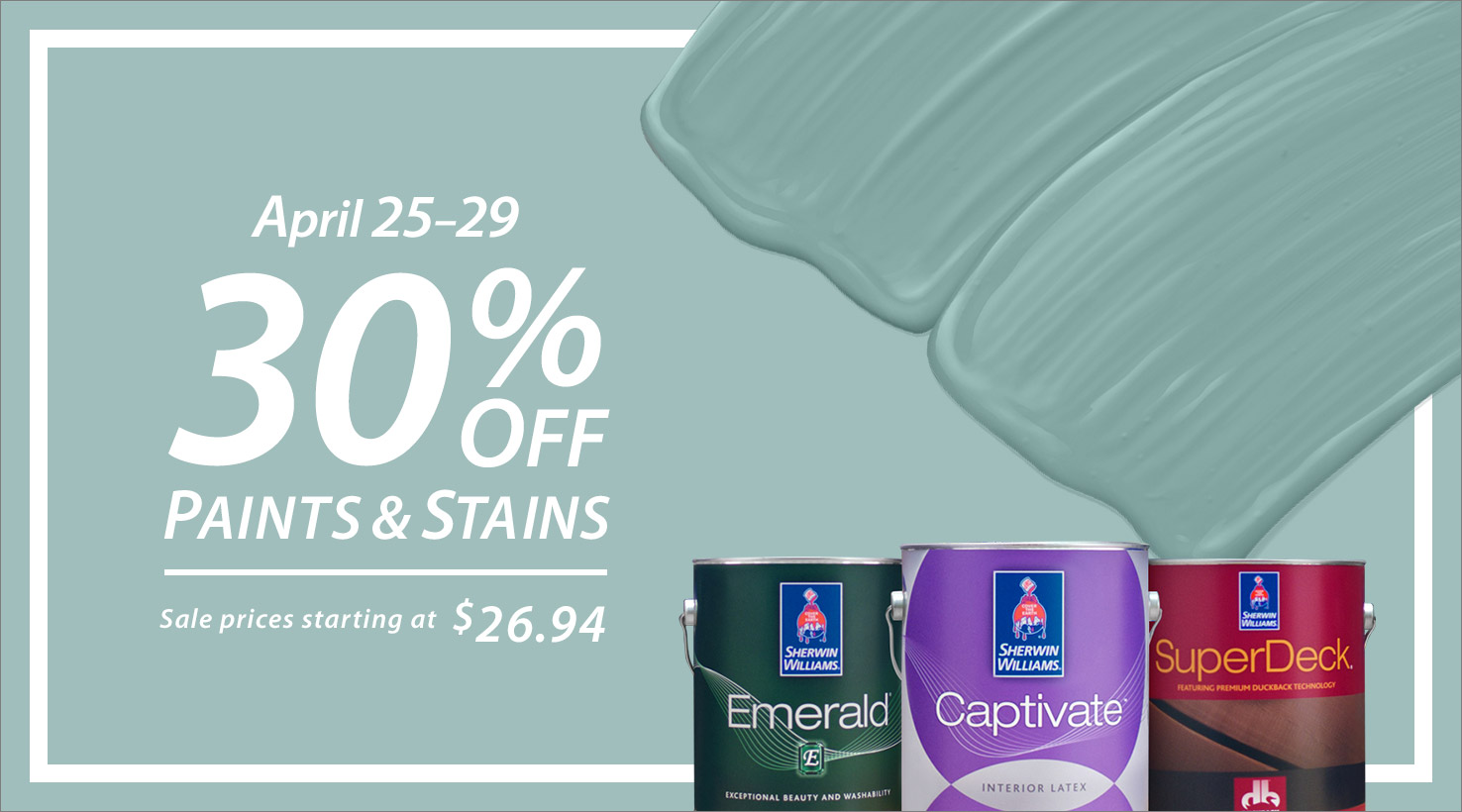 dd6b94fa203a Special Offers by Sherwin-Williams. Explore and Save Today.