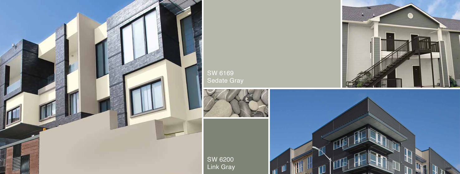 Cool neutrals multi family color collection sherwin for Cool neutral color palette