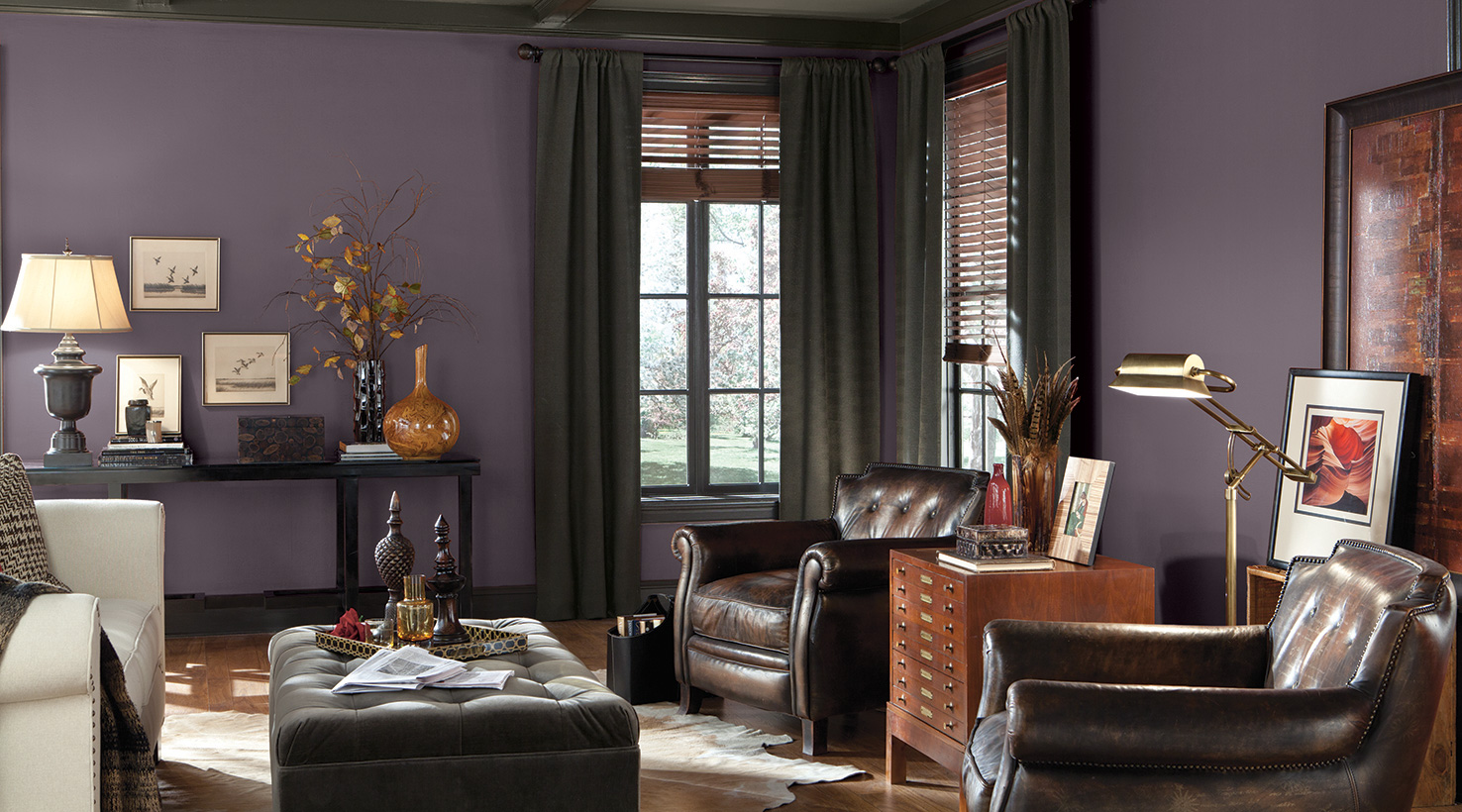 Vibrant Violet National Painting Week From Sherwin Williams