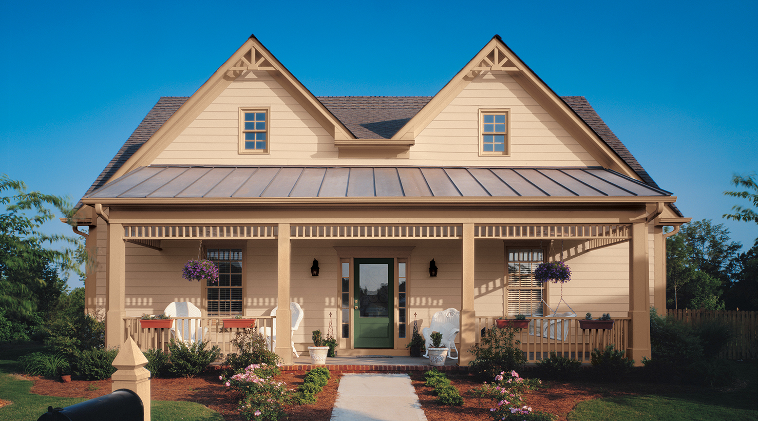Exterior house color inspiration sherwin williams for House colour
