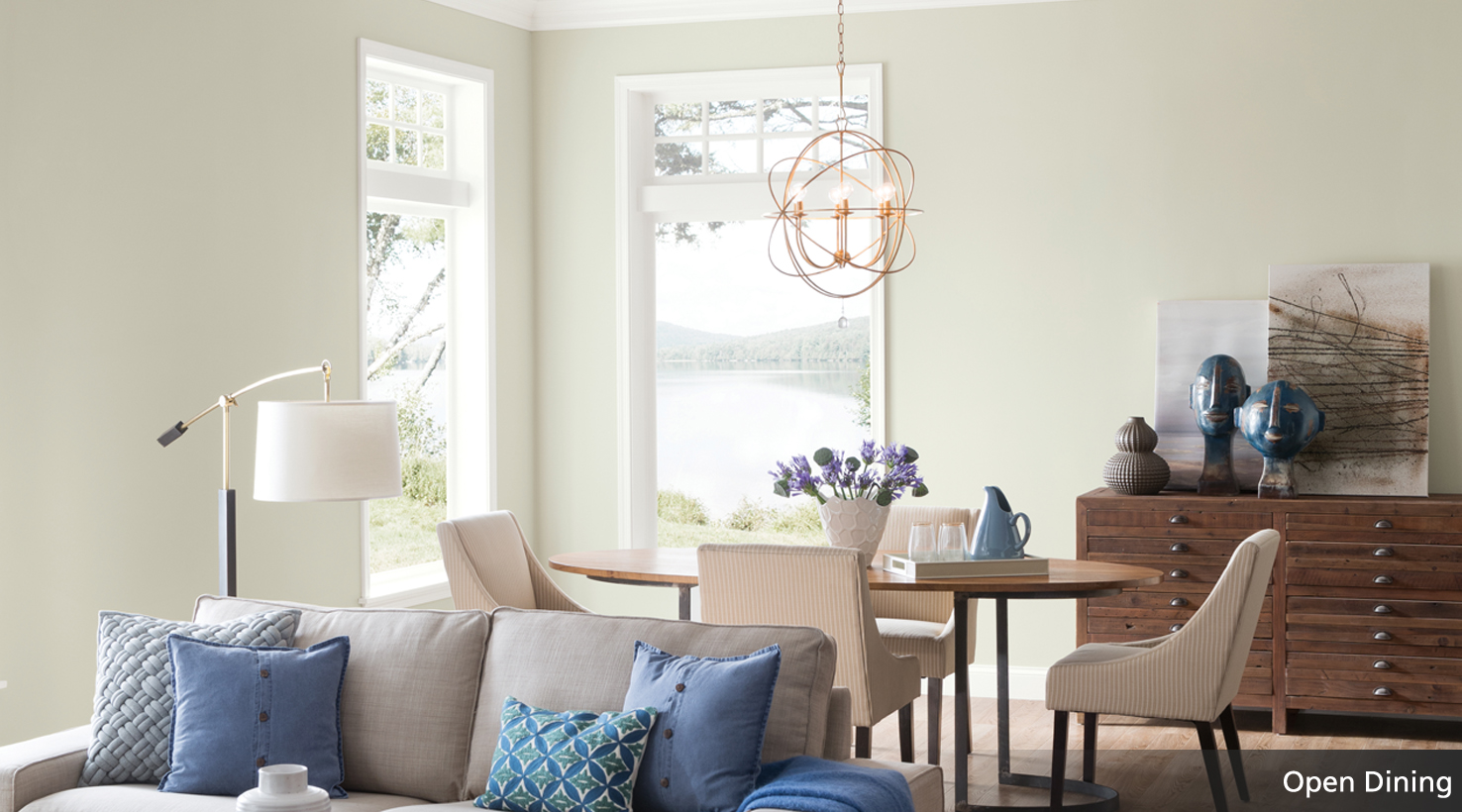 Open Floor Plan Paint Color Guide | Sherwin-Williams