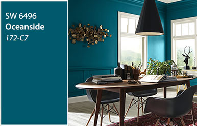 Colours For Bedroom 2018. Introducing the 2018 Color of Year  Oceanside Paint Colors Exterior Interior From Sherwin Williams