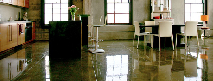 Excel With The Right Clear Sealer For Interior Concrete - Clear coat for tile floors