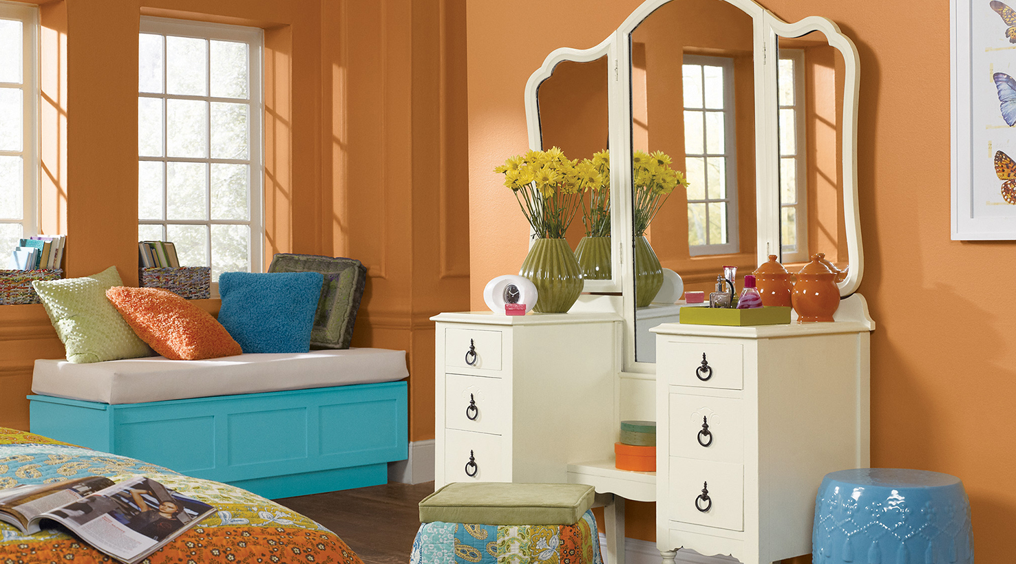 Rooms For Teens teen room color inspirationsherwin-williams