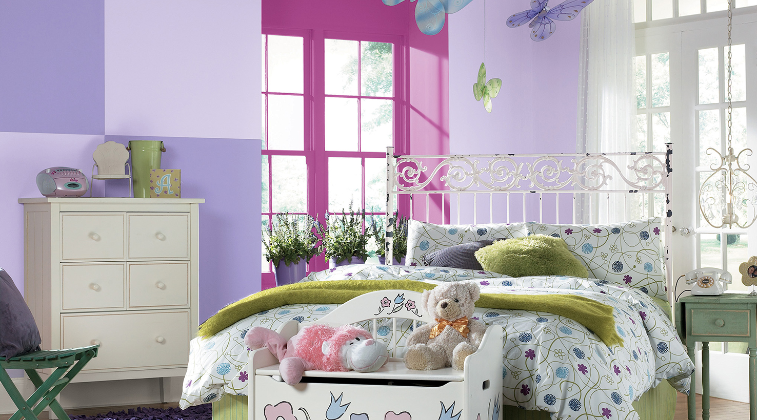 Bedroom Ideas Violet