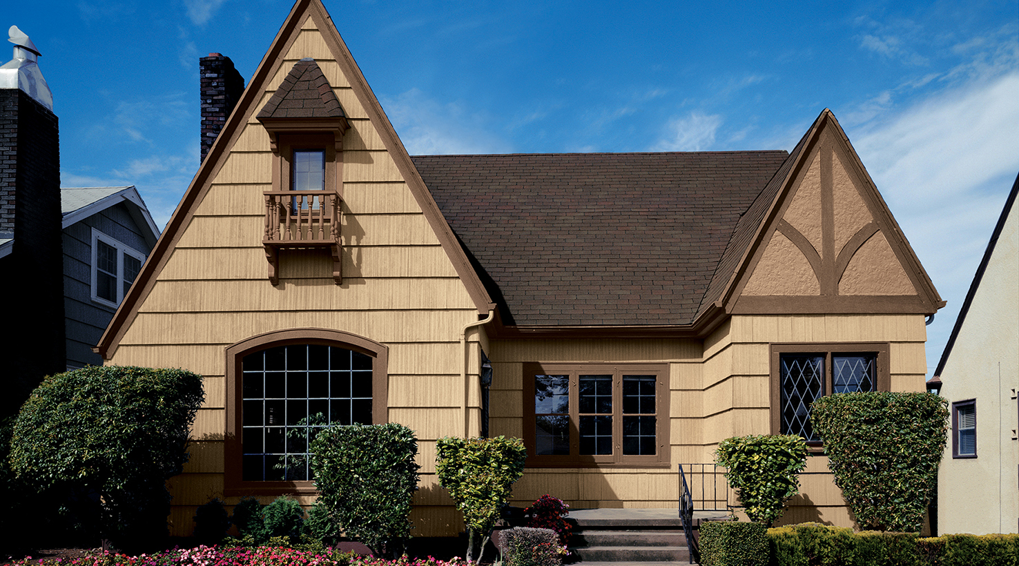 Exterior house color inspiration sherwin williams for Pictures of exterior homes