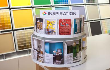 Color Guides Postcards