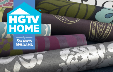 Hgtv Home By Sherwin Williams Wallpaper Collection