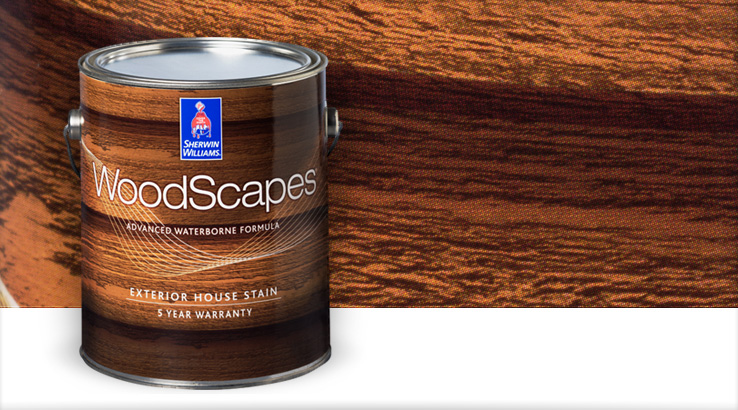 Beautiful WoodScapes® Exterior House Stains