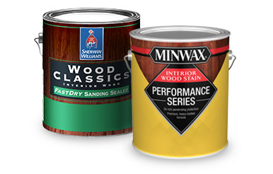 How To Stain Wood Sherwin Williams